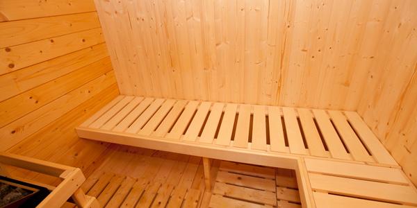finnische Sauna, Ferienhaus