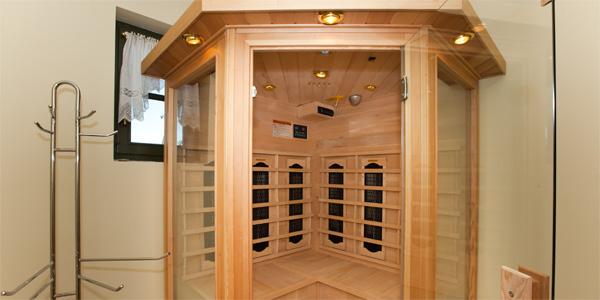 Sauna - Haus Darßblick, Infrarot-Sauna