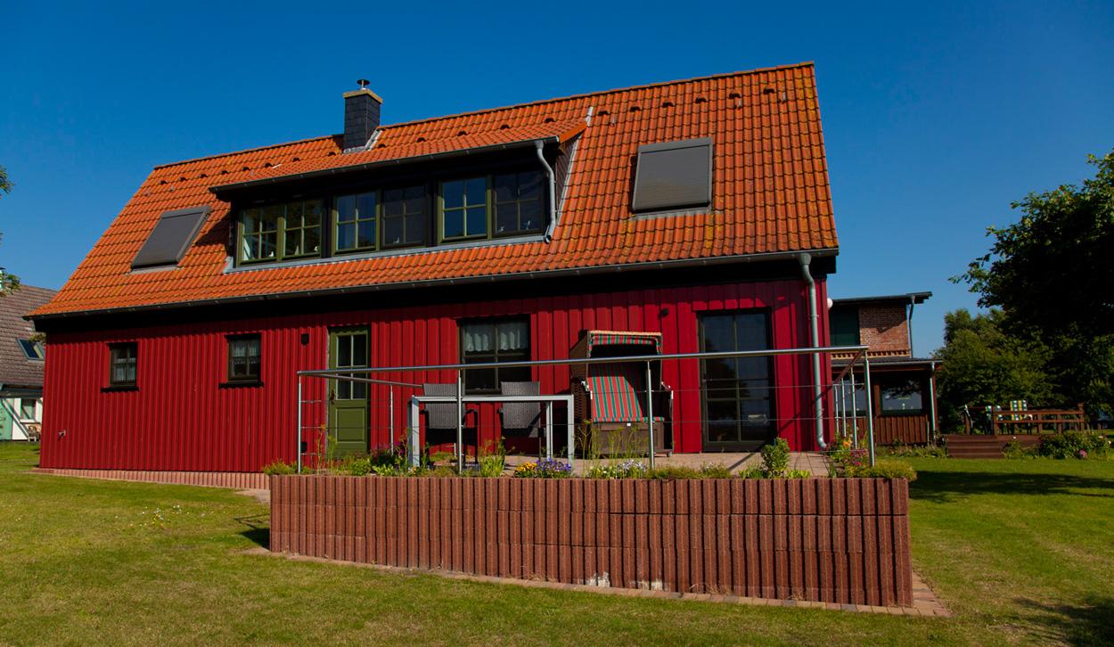 Haus Darßblick, Ferienhaus, Bodden, Urlaub am Bodden