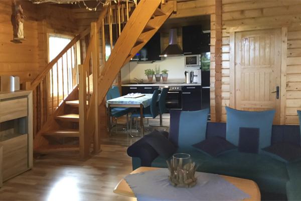 Haus Kranichblick, Wohnzimmer, Küche