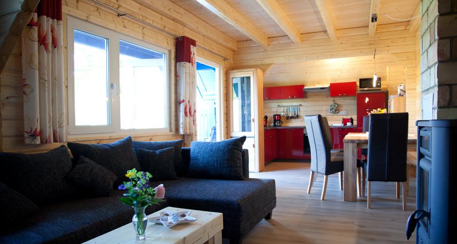 Haus Werner, Küche und Wohnzimmer