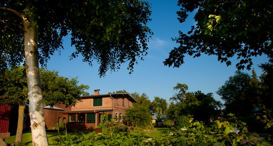 Ferienhäuser Boddenperlen, Grundstück