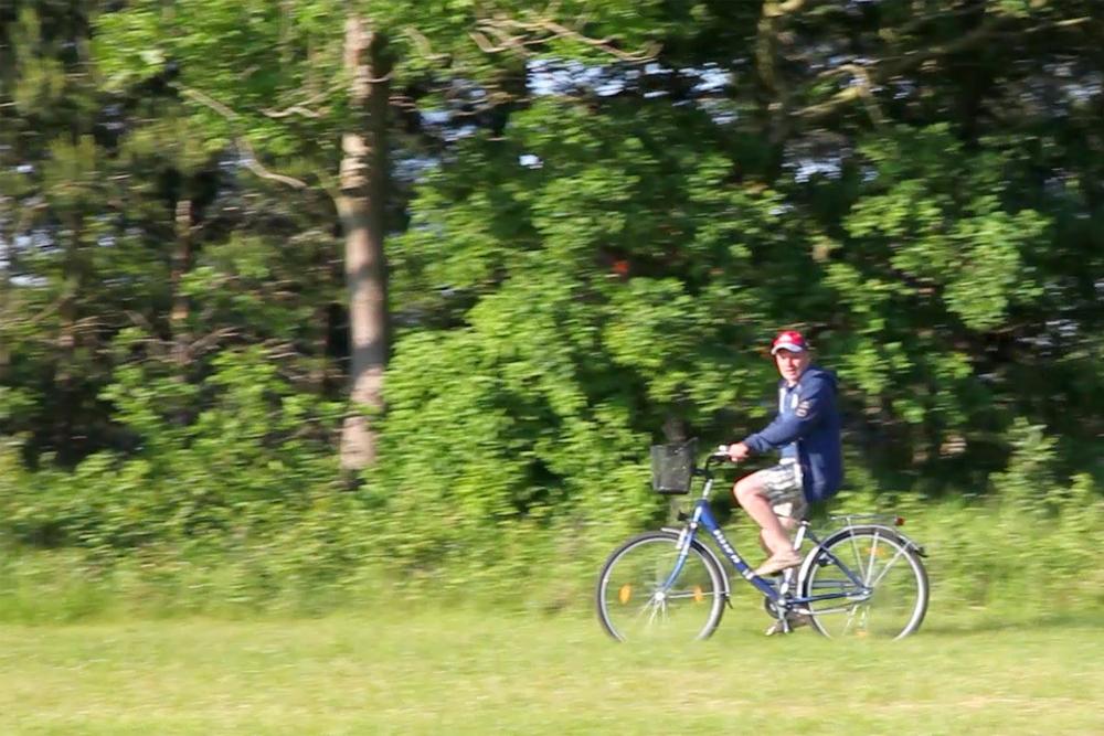 Fahrradtour am Saaler Bodden