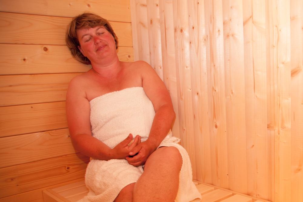 Sauna im Ferienhaus, Haus Hanna