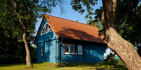 Blick vom Haus Kranichblick, Ferienhaus