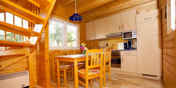 Haus Kranichblick, Küche, Ferienhaus