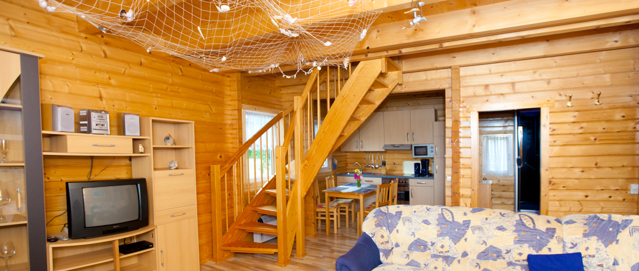 Haus Kranichblick, Wohnzimmer