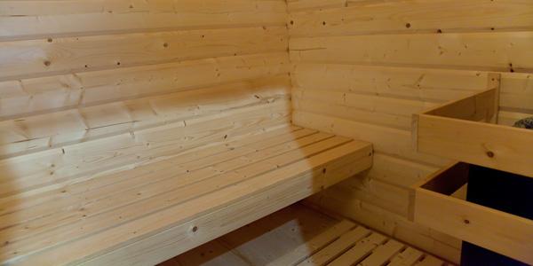 finnische Sauna Haus Werner - Ferienhäuser Boddenperlen