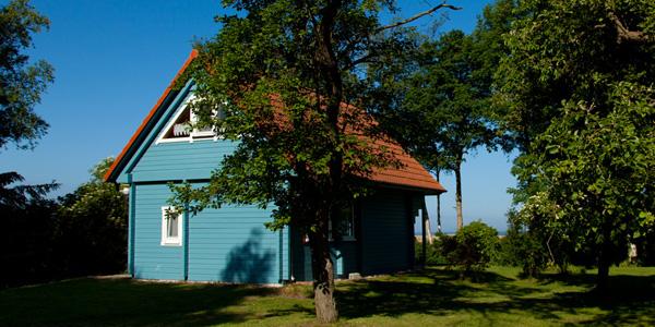 Haus Kranichblick, Ferienhaus am Saaler Bodden