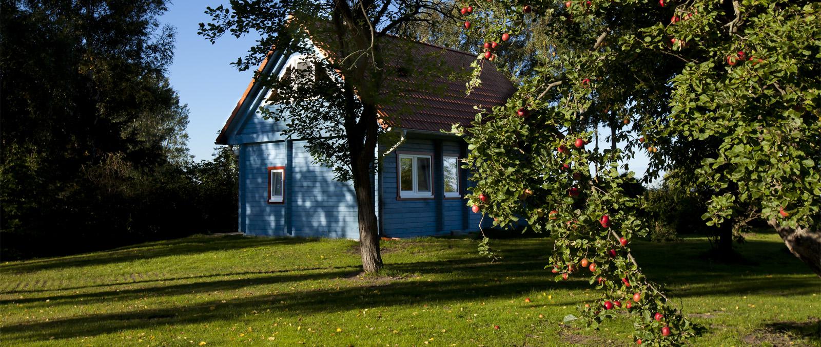Haus Kranichblick, Garten