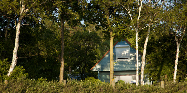 Haus Kranichblick, Ferienhaus, Blick vom Feld