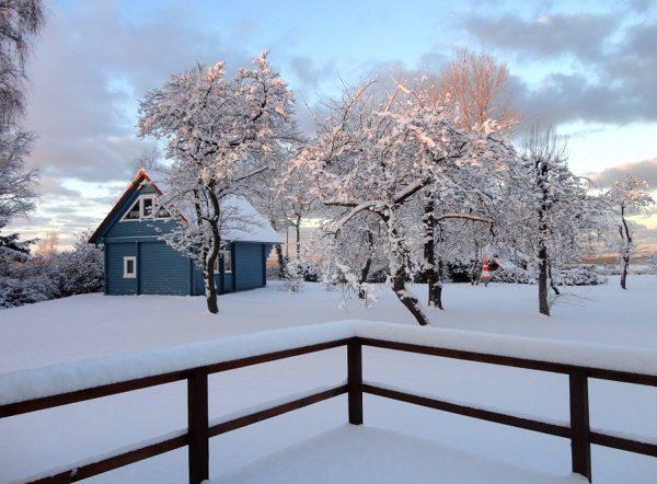 Haus Kranichblick, Ferienhaus Winter